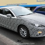 Mazda 3 2015 Spy Shot, Interior & Render